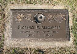 Florence M Alexander