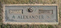 Leslie H Alexander