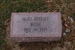 Alice Isabelle <i>Riley Suratt</i> McCoy