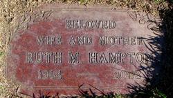 Ruth Marian <i>Meck</i> Hampton