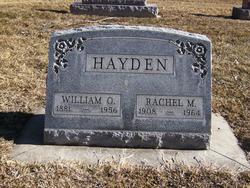 Rachel Marie <i>Johnson</i> Hayden