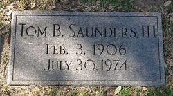 Thomas Bailey Saunders, III