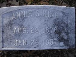 Annie S King