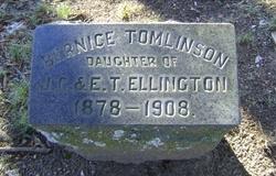 Bernice Tomlinson Ellington