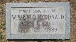 Infant Daughter McDonald