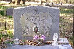Mary <i>Tillman</i> Davis