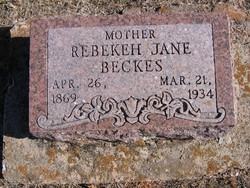 Rebekeh Jane Beckes