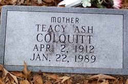 Teacy Ash Colquitt