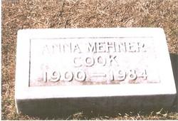 Anna Frances <i>Mehner</i> Cook
