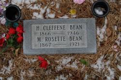 Mary Rosette <i>Bowman</i> Bean
