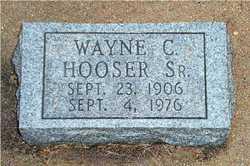 Wayne C Hooser, Sr