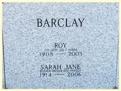 Sarah Jane Sally <i>Gans</i> Barclay