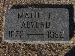 Matie L <i>Eychner</i> Alvord