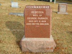 Rebecca <i>Chance</i> Farrier