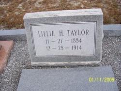 Lillie <i>Hazen</i> Taylor