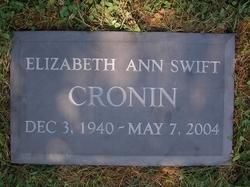Elizabeth Ann <i>Swift</i> Cronin