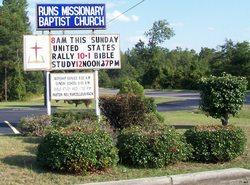 Runs Missionary Baptist Church Cemetery