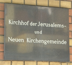 Kirchhof Jerusalem und Neue Kirche IV