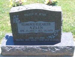 Florence Elizabeth <i>Davis</i> Azlin