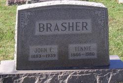 Tennie <i>Myers</i> Brasher