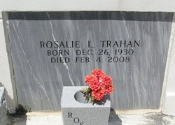 Rosalie Lucille <i>Barthelemy</i> Trahan