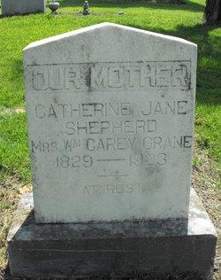Catherine Jane <i>Shepherd</i> Crane