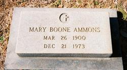 Mary Louise <i>Boone</i> Ammons