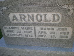 Blanche Marie <i>Cummins</i> Arnold