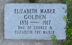 Elizabeth <i>Maber</i> Golden