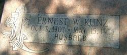 Ernest W Kunz