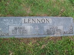 Mamie Beatrice <i>Cook</i> Lennon