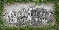 Marjorie <i>Pugh</i> Levick