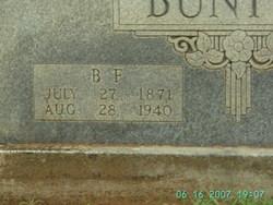 Bartley Franklin Buntyn