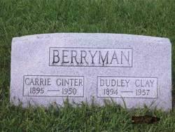 Carrie <i>Ginter</i> Berryman