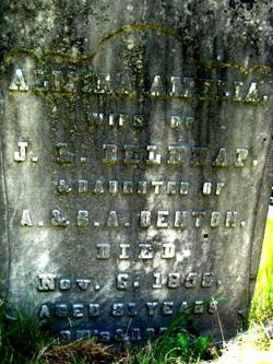 Almira Amelia <i>Denton</i> Belknap