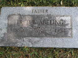 Frederick William Fred Abeling