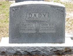 Mary Elizabeth A <i>Price</i> Dady