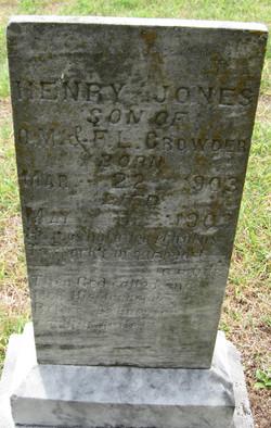 Henry Jones Crowder