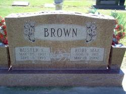 Ruby Mae <i>Payne</i> Brown