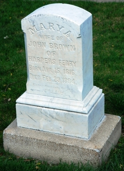 Mary Ann <i>Day</i> Brown