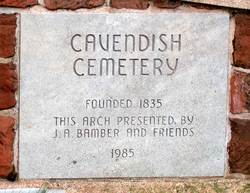 Cavendish Community Cemetery