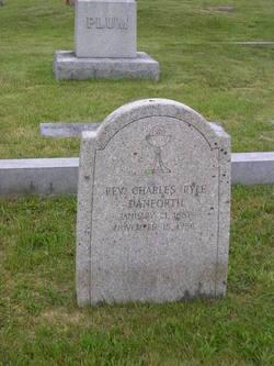 Rev Charles Ryle Danforth