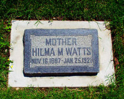 Hilma Margreta <i>Ljung</i> Watts