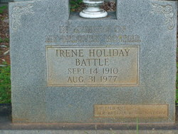 Irene <i>Holiday</i> Battle