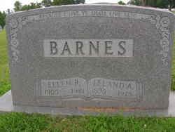 Ellen Rhoda Ella <i>Coombes</i> Barnes