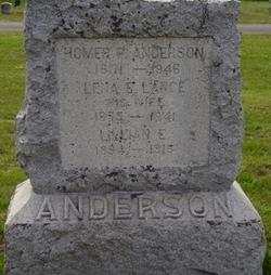 Lena E <i>Lance</i> Anderson