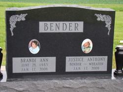 Justice Anthony <i>(unborn)</i> Bender-Wheaton