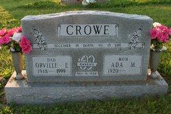 Orville Edward Crowe
