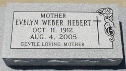 Evelyn <i>Weber</i> Hebert