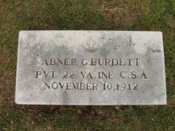 Abner G. Burdett